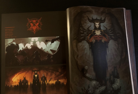 "Diablo 4 на страницах артбука ""Art of Diablo"""